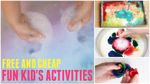 Fun Kids Activities What To Do When Youre Bored At Home