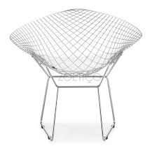 Bertoia Style Diamond Wire Chair (Multiple Cushion Colors ... Bertoia Diamond Lounger Knoll Shop Diamond Ta Armchair Nuans Chair Intertional Harry 1952 Design Armchair Gold Plated Couch Potato Company By Cane Line Yliving With Sunbrella Cushion Skandium Eyecatching Harryarm Insp Metal Chair Stylized Outdoor Bronze Base Tonus 4 210 Small With Seat Cushion