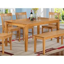 Simply Casual Capri 36x60 Solid Wood Top Dining Table