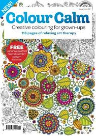 Adult Coloring Book Colouring Magazine