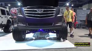 100 Custom Truck Las Vegas Cadillac Escalade Lifted 2016 Sema Show In