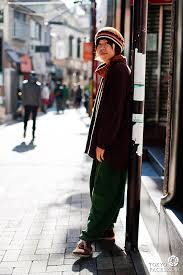 Street Style Photograph Of A Japanese Man In Tokyo