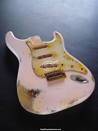Fender Stratocaster Relic Shell Pink Allparts Replacement Body Made In USA SOLD
