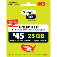 Straight Talk $45 Unlimited 30 Day Plan (with 25GB Of Data At High Speeds,  Then 2G*) (Email Delivery) - Walmart.com Canvas Prints Coupon Code Refill My Phone Straight Talk Woocommerce Shipping Calculated Before After Coupon What Is Groupon Select And It Worth Clark Howard Straight Best Buy Car Stereo Installation Sale On Phones Knotts Berry Farm Tickets Talk Samsung Galaxy S7 Edge Gold Platinum 32gb Runs Verizons 4g Xlte Via Talks 4500 5gb Unlimited Text Service Smart Promo New Bassprocom Coupons Amp Deals 45 30 Day Plan With 25gb Of Data At High Speeds Then 2g Email Delivery Walmartcom Vegas Shows Codes Brookgreen Gardens Sc Recditioned Iphone 6 49 Get A Free Service Plan