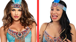 Cultural Appropriation Halloween Examples by Native Americans Try On