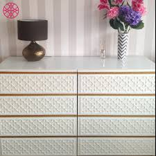 Ikea Nyvoll Dresser Light Grey by Sarah Ryner Did A Fabulous Job On This O U0027verlays Quatrefoil