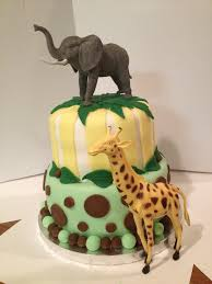 The 145 Best Junglesafari Cakes Images On Pinterest In 2018