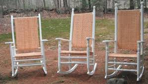 Recaning A Chair Back by New England Porch Rockers Porch Rockers Portsmouth Nh