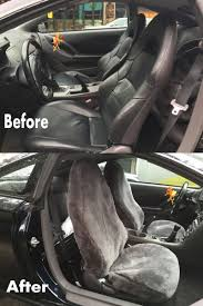 Toyota Celica 2002 Custom Sheepskin Seat Covers. Cool In Summer And ...
