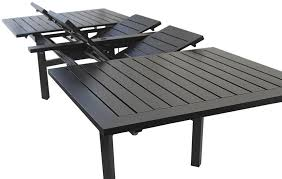 Outdoor Patio Rectangle Extendable Dining Table