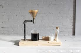 DIY Pour Over Coffee Maker Learn How To Make This Out Of Iron Pipe