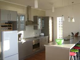 Narrow Galley Kitchen Ideas by Melbourne Galley Kitchen Design Photos Beach Style With Black Trim