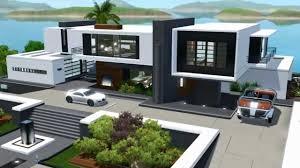 100 Modern House 3 The Sims Seaside NO CC