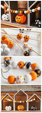 Christmas Tree Garland Wooden Beads by Best 25 Beaded Garland Ideas On Pinterest Christmas Garlands