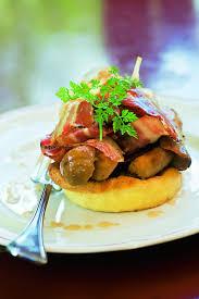 cuisiner cepes frais recette tarte aux cèpes et au foie gras