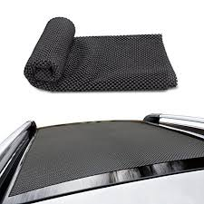 CAR ROOF PROTECTIVE MAT Siivton Roof Rack Pad Non Slip For Car Storage