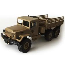 100 4wd Truck WPL 116 Radio Controlled Toys RC Military Crawler Off Road