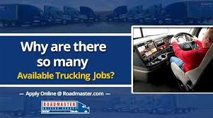 Why Are There SO Many Available Trucking Jobs? - Roadmaster Drivers ...