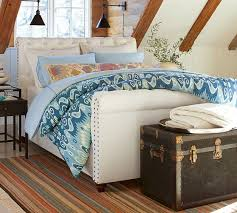 Pottery Barn Master Bedroom by Chesterfield Bed With Footboard Pottery Barn Master
