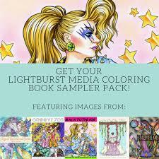 Free Coloring Book Sampler Pack