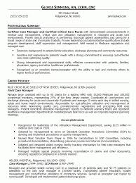 Rn Case Manager Resumes April Onthemarch Co Resume Examples Downloadable