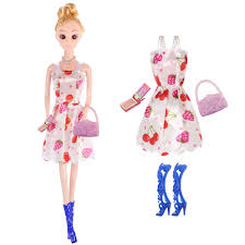 66 Pcs Barbie Doll Clothes Accessories Huge Lot Party Gown Outfits