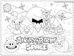 Free To Download Angry Birds Printable Coloring Pages 29 With Additional Seasonal Colouring