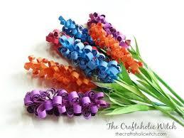 DIY Paper Hyacinth Flowers