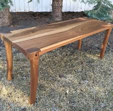 Maloof Rocking Chair Joints by A Walnut Bench With Maloof Joint Legs Outdoors Stool Creative