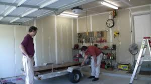 Garage Ceiling Kayak Hoist by Garage Lift System Hoist U2014 Home Ideas Collection Create Storage
