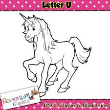 Letter U Clip art by RamonaM Graphics