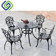 metall garten esszimmer möbel wintergarten terrasse möbel