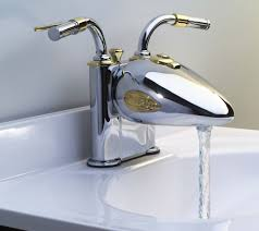 Motorcycle Faucet Revs Up Holiday Gift Giving Bathroom Decoration