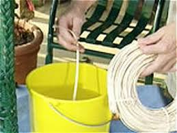 How to Repair Wicker Furniture how tos