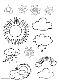 Astounding Pdf Weather Coloring Pages With And