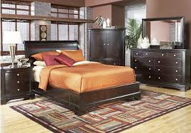 shop for a whitmore cherry platform 5 pc queen bedroom at rooms to