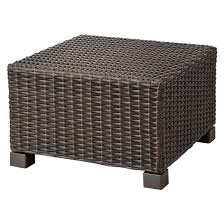 Patio Furniture With Hidden Ottoman by All Weather Wicker Patio Furniture Target