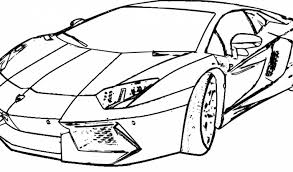 Printable Lamborghini Coloring Pages Onlin Web Art Gallery To Print