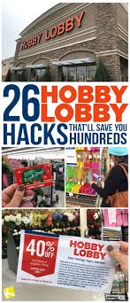 26 Hobby Lobby Hacks That'll Save You Hundreds | Store Hacks ... Hlobbycom 40 Coupon 2016 Hobby Lobby Weekly Ad Flyer January 20 26 2019 June Retail Roundup The Limited Bath Oh Hey Off Coupon Email Archive Lobby Half Off Coupon Columbus In Usa I Hate Hobby If Its Always 30 Then Not A Codes Up To Code Extra One Regular Priced App Active Deals Techsmith Coupons Promo Code Discounts 2018 8 Hot Saving Hacks Frugal Navy Wife
