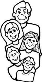 Colouring Picture Family Free Coloring Pages Of