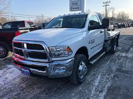 100 Regular Cab Truck New 2018 Ram 3500 Platform Body For Sale In Plattsburgh NY T18319