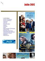 Catalogo DVD Julio 2016