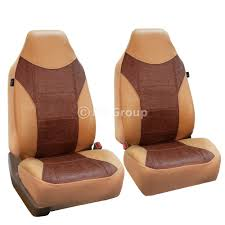 100 Truck Seat Cover FH Group Highback Textured Leather S For Sedan SUV Van