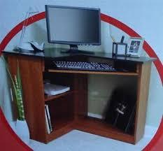 Ebay Corner Computer Desk by Brand New In Box Staples Inspire Cherry Laminate Corner Computer