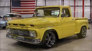 100 1965 Chevy Truck Pickup Yellow YouTube