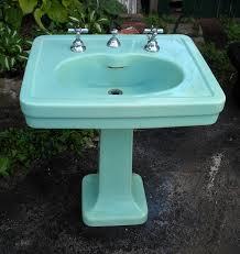 Kohler Bancroft Single Hole Pedestal Sink by Spring Green 1930s Kohler Sink Epic Too Bad It U0027s Super Pricy And