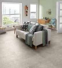 burnished concrete camaro luxury vinyl tile flooring featured in