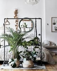 ideen zuhause schlafzimmer pflanzen zimmer einrichten