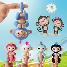 New Fingerling Monkey Smart Colorful Fingers Induction Toys Best Gifts For Kids Fingerlings Interactive Finger Boy Christmas Top