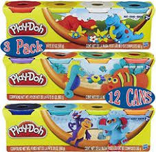 Play Doh 4 Pack Of Colors 20oz Gift Set Bundle 12 Cans